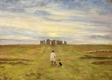 Edgar Barclay Stonehenge