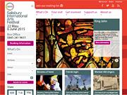 Salisbury International Arts Festival 22 May - 6 June 2015